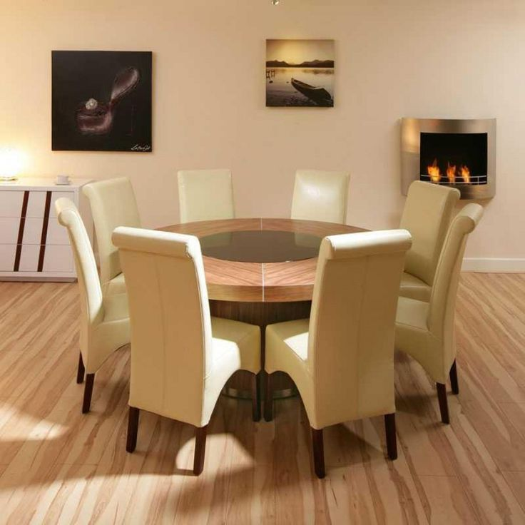 100+ Round Oak Dining Table Seats 8 - Best Quality Furniture Check more at http://livelylighting.com/round-oak-dining-table-seats-8/