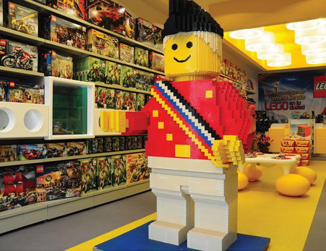 Taller de construcción Lego en Fnac Majadahonda