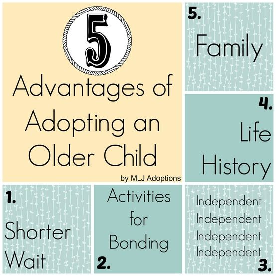 the advantages of adopting a baby The child, for the full and harmonious development of his or her personality, should grow up in a family environment, in an atmosphere of happiness, love and understanding [i]ntercountry adoption may offer the advantage of a permanent family to a child for whom a suitable family cannot be found in his or her state of origin.