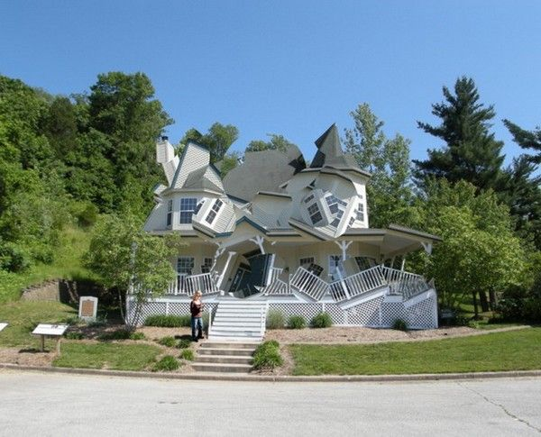 Some weird house design 3 unique home designs for Creative house designs