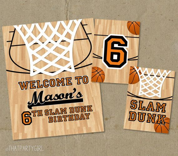 42 Best Images About Basketball Party On Pinterest