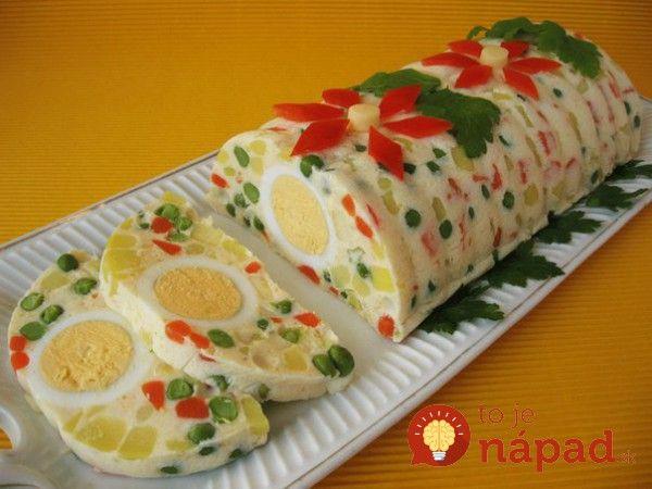 Farebné a veľmi chutné pohostenie na veľkonočný stôl. Pripravte pre svojich hostí vynikajúce sviatočné pohostenie.