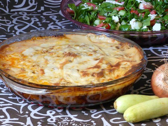 Zucchiniauflauf Ägypten Rezept Kuusa Bechamel