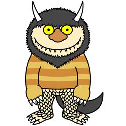 How To Draw Quot Where The Wild Things Are Quot Monsters