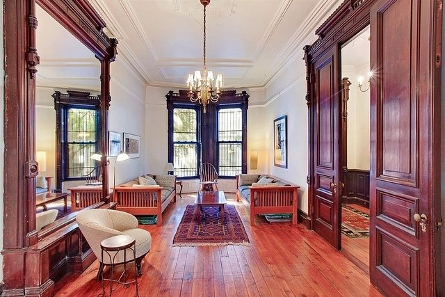 Brooklyn brownstone victorian interior woodwork house decor pinterest victorian interiors Brooklyn brownstone interior