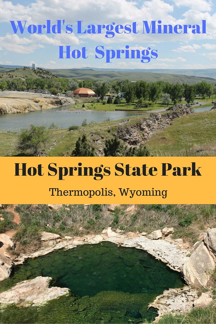 Hot Springs State Park, Thermopolis, Wyoming - Road Trips For Families