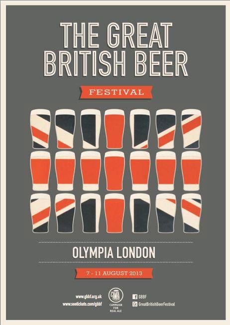 GREAT BRITISH BEER FESTIVAL on Behance