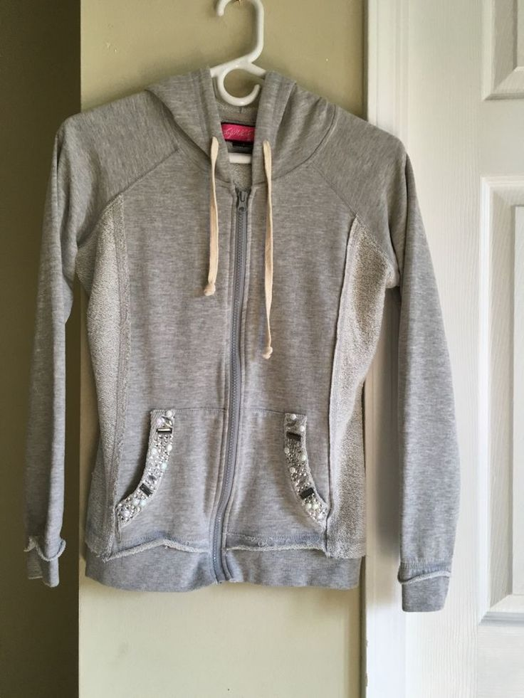 Grey zip up, detailed pockets #SayWhat #TrackJacket