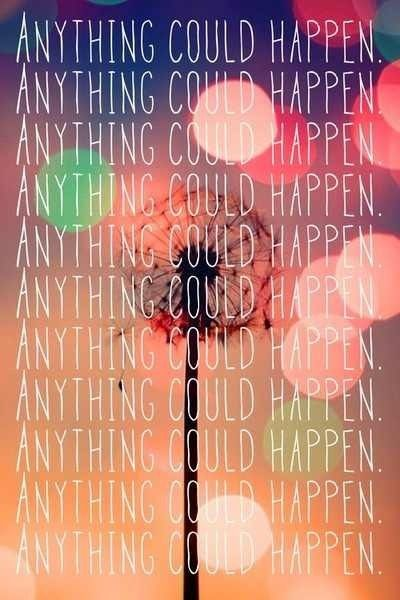 Anything Could Happen by Ellie Goulding... it's funny because she seriously says it like this many times in a row...