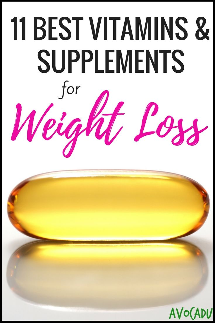 11 Best Vitamins & Supplements for Weight Loss | Avocadu.com