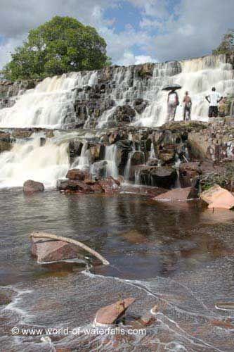 Orinduik Falls, Potaro River, Potaro-Siparuni Region, Guyana