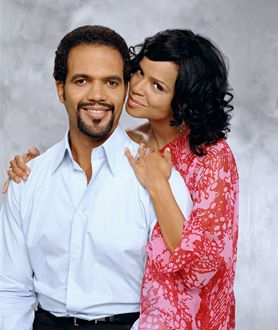 The Young and the Restless - Kristoff St. John, Victoria Rowell