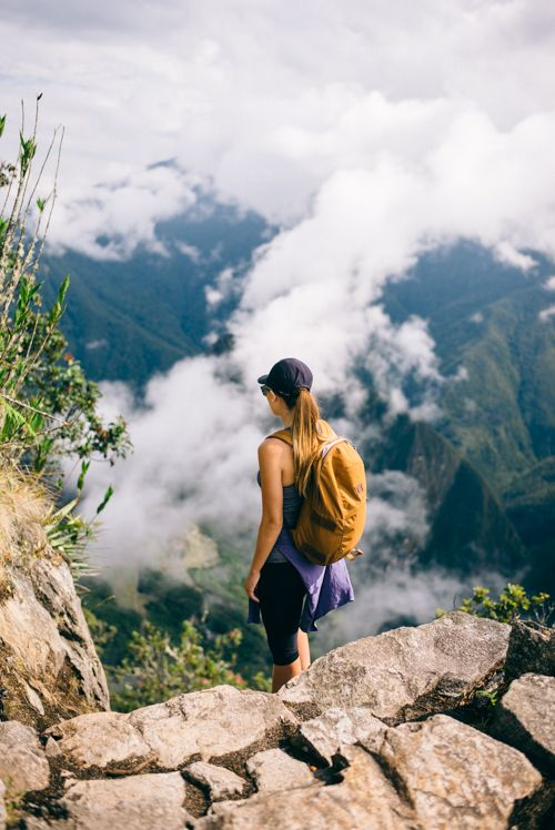 Gal Meets Glam Peru Itinerary - Hiking Machu Picchu Mountain - Patagonia Backpack