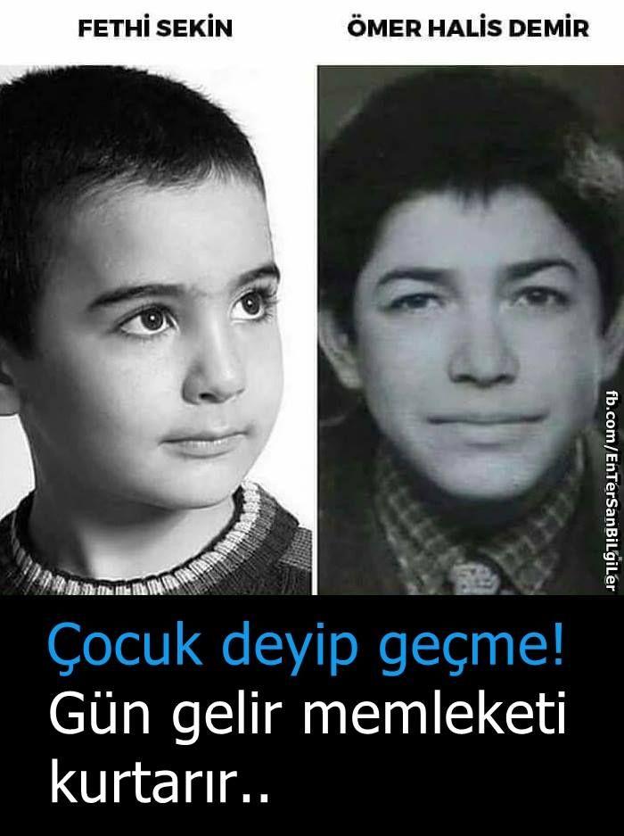 Çocuk deyip geçme. Gün gelir memleketi kurtarır... Sizi #Unutmayacağız! #OsmanlıDevleti