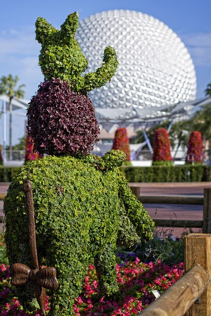Topiary Take me to Epcot!