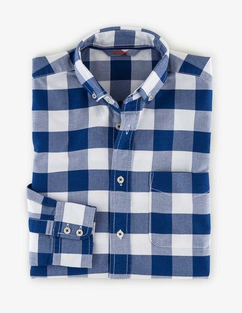 Washed Oxford Shirt MA397 Semi Fitted at Boden