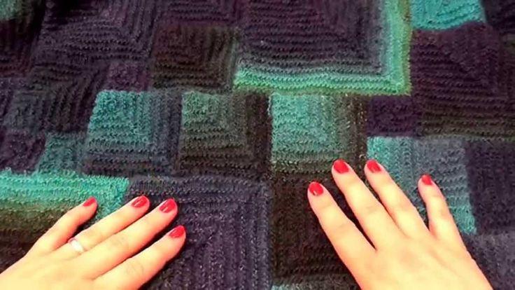 Modulové pletení čtverce 2. - škola pletení