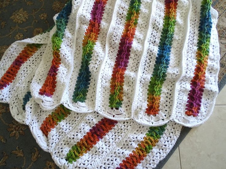 Mile A Minute Celtic Weave Afghan Free Crochet Pattern