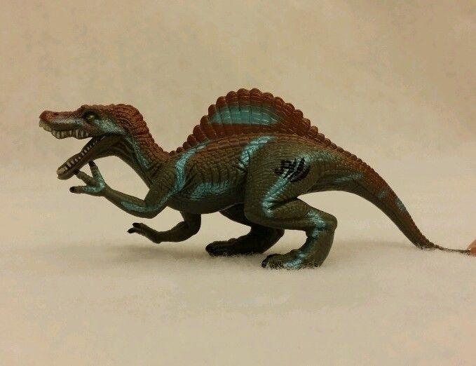 Jurassic park 3 iii mini spinosaurus action figure jp dinosaur jurassic park parks and chang 39 e 3 - Spinosaurus jurassic park ...