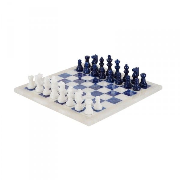 The Best Ways To While Away Thanksgiving Day   The Zoe Report: Marbled Alabaster Chess Set, Scali Salvatore $295