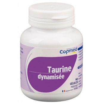Taurine dynamisée Complément alimentaire à base de taurine, d'inositol et de minéraux.  Contribue à réduire la fatigue, au fonctionnement normal du système nerveux et à une fonction musculaire normale, grâce au magnésium.
