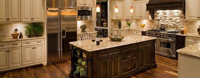 How Charming The Deluxe Traditional Kitchens Design Ideas