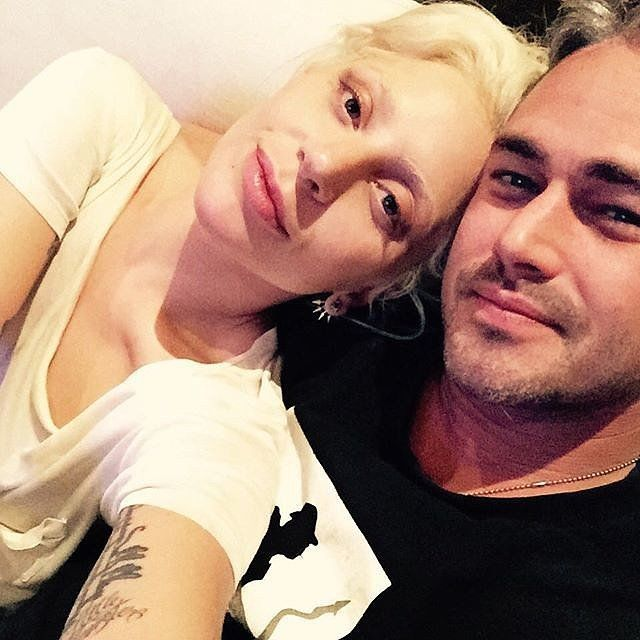 Cute Lady Gaga and Taylor Kinney Pictures | POPSUGAR Celebrity