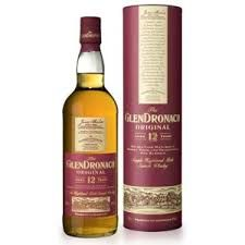 GLENDRONACH 12 YEAR OLD: A 12 year old from the Highlands distillery, GlenDronach, a very heavily sherried single malt.  Nose, rich cereals, struck match, raisin, cinnamon, caramelised sugar. Opens with some sweeter PX and lots of delicious raw ginger before becoming creamier with hazelnuts.  Palate, fruits, peels, buttery. Pain au chocolat, a little marmalade on toast before becoming firmer and nuttier with spiced raisins.  Finish, smokey toffee and nut brittle.