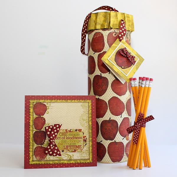 Cute teacher gift! @Juliana Michaels #bobunny: Pringles Projects, Teachers Gift, Juliana Michaels, Pringles Can, Teacher Gift, Crafts Altered Projects, Altered Pringles, Greeting Cards Projects