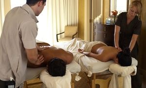 Groupon - $ 99 for a Couples Spa Package with Massage and Hot Towels at Horizon Massage and Wellness ($254 Value) in Dallas. Groupon deal price: $99
