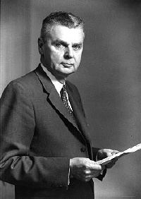 John Diefenbaker the 13th Prime Minister of Canada Met him on my way to the post in Ottawa to mail a letter. He said hi to me when he walked by. Very friendly.