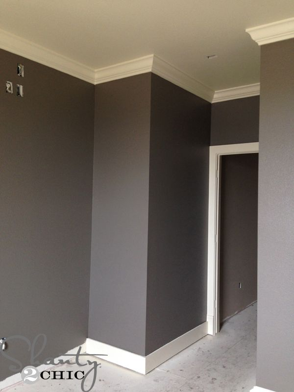 Seine-Valspar- I'm liking this color for a bedroom.