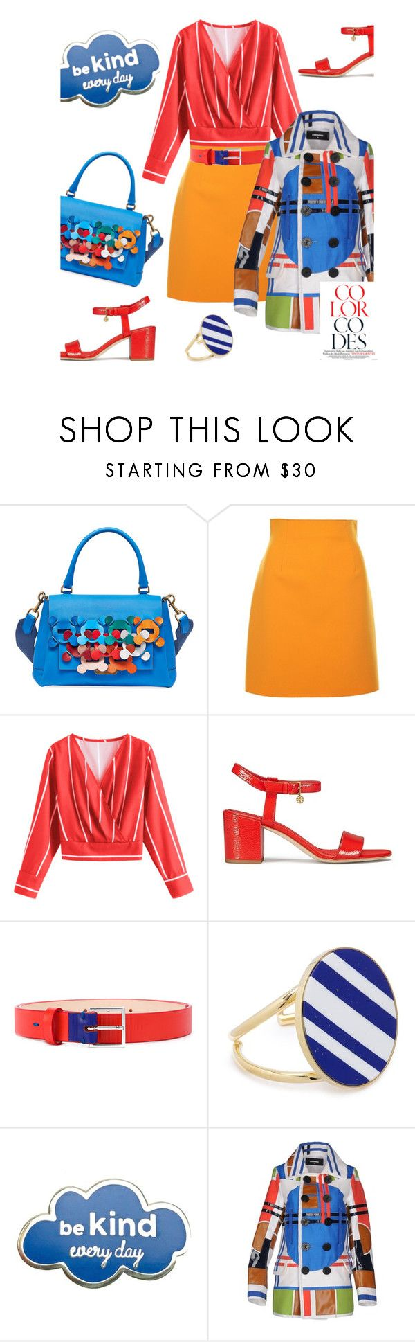 """""""Arm Candy: Statement Bags"""" by dianefantasy ❤ liked on Polyvore featuring Anya Hindmarch, MSGM, Tory Burch, PS Paul Smith, Joanna Laura Constantine, Dsquared2 and statementbags"""