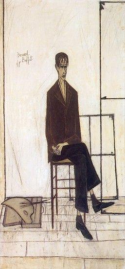 Bernard Buffet ( Selfportrait, 1948)