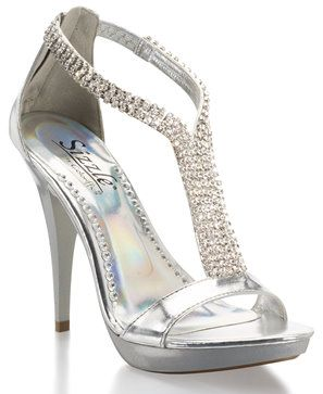 Top 25  best Silver bridal shoes ideas on Pinterest | Silver heels ...