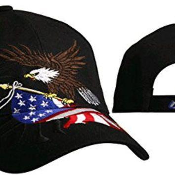 patriotic baseball caps wholesale cap bald eagle black hat flag red white blue mlb hats usa