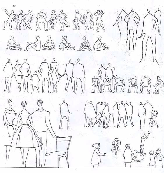 Best People Staffage Images On Pinterest Drawings