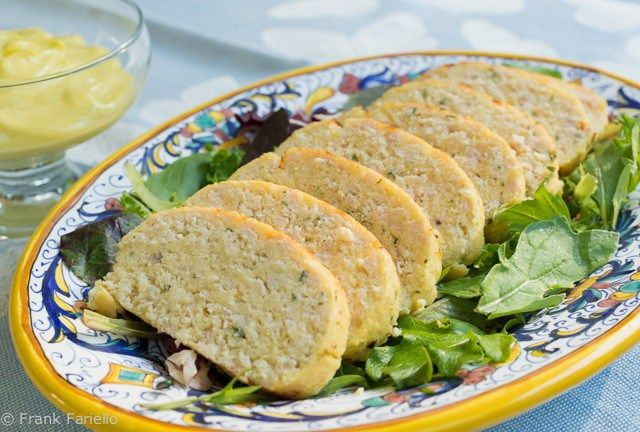 Polpettone di tonno (Italian Tuna Loaf) - can be done with any fish and baked in a parchment paper roll