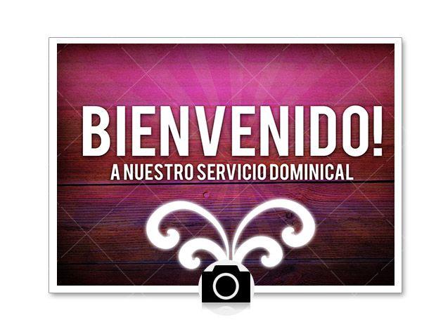Still background image – Anuncio de Bienvenida #2 (Spanish ...
