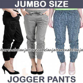 [Big Size FIT TO XL-XXL] Best Seller Jogger Pants - elevenia