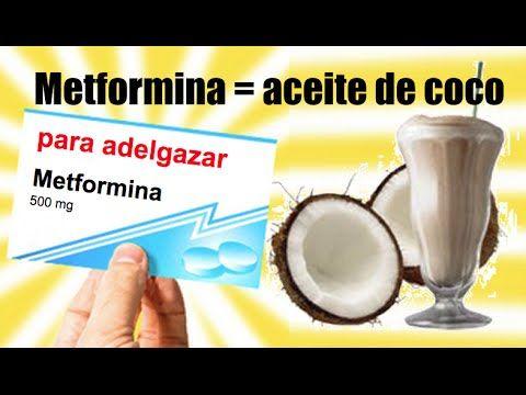 Dosis de aceite de coco para adelgazar (en vez de Metformin)  #Nutrición y #Salud YG > nutricionysaludyg.com