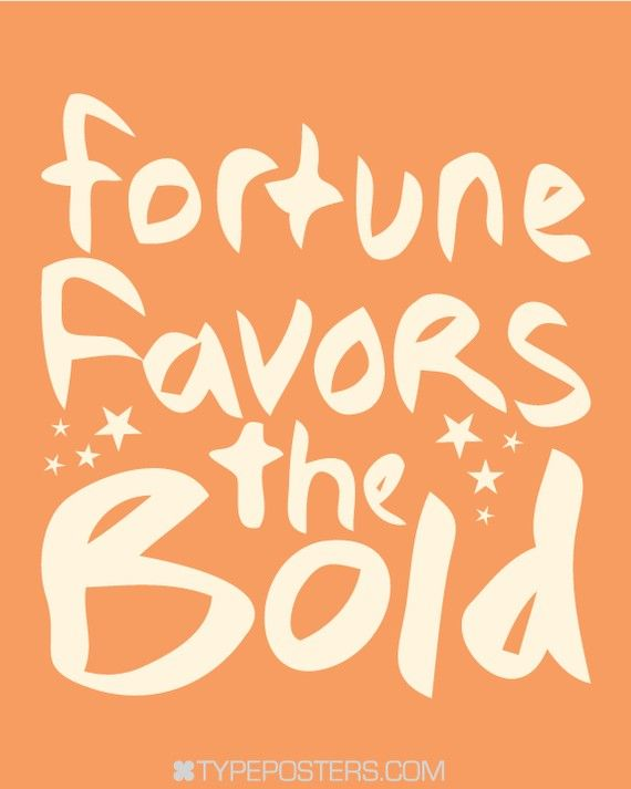 When you hear the word fortune do you envision a scared, quiet, reserved person sitting on a couch???? @theboldabode
