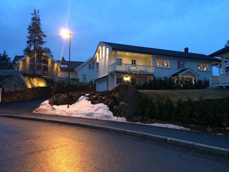 Hus i Opsalvegen tegnet og prosjektert av SDK Consult