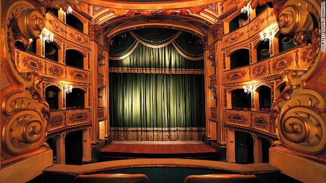 Teatru Manoel (Malta) Built in 1731, this is one of Europe's oldest working theaters. The building remained unscathed despite serving as a bomb shelter during Wor...
