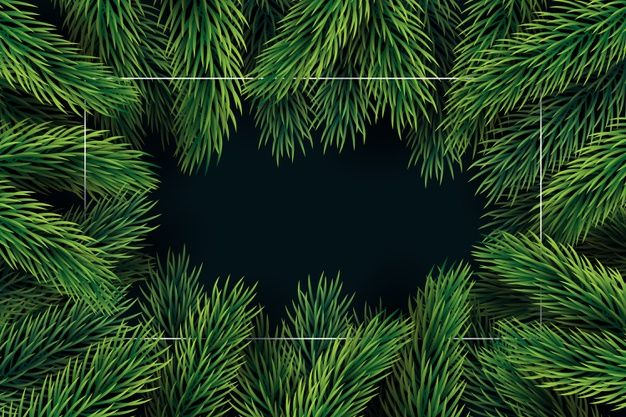 Download Flat Design Christmas Tree Branches Background For Free In 2020 Christmas Tree Branches Tree Branches Christmas Tree