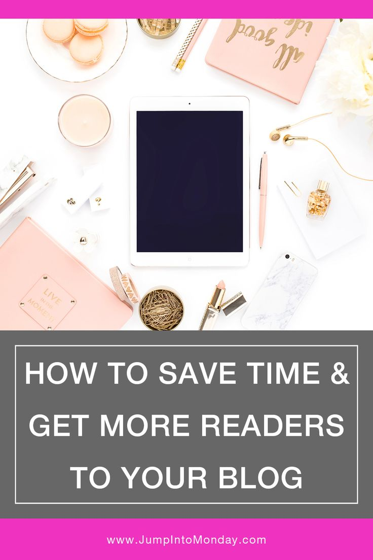 How To Save Time and Get More Blog Readers (Hint: Schedule your social media posts!)