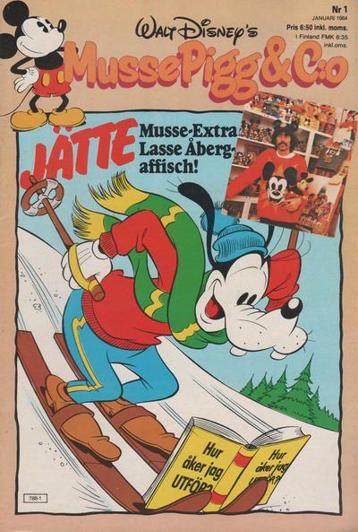 Cover for Musse Pigg & C:o (Hemmets Journal, 1980 series) #1/1984