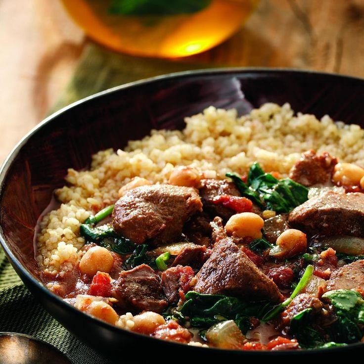 Middle Eastern Lamb Stew Recipe - EatingWell.com