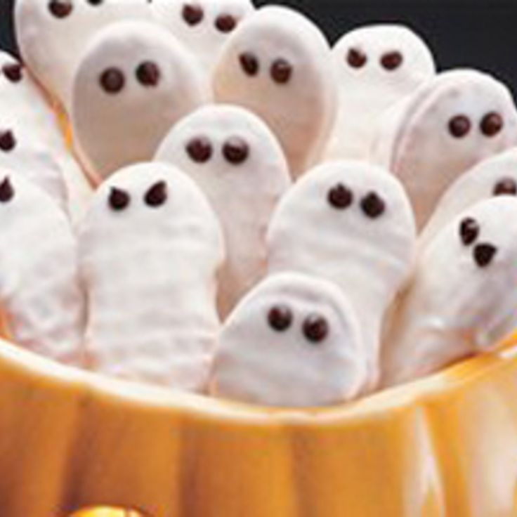 B.C. Ghost Cookies #recipe | Justapinch.com