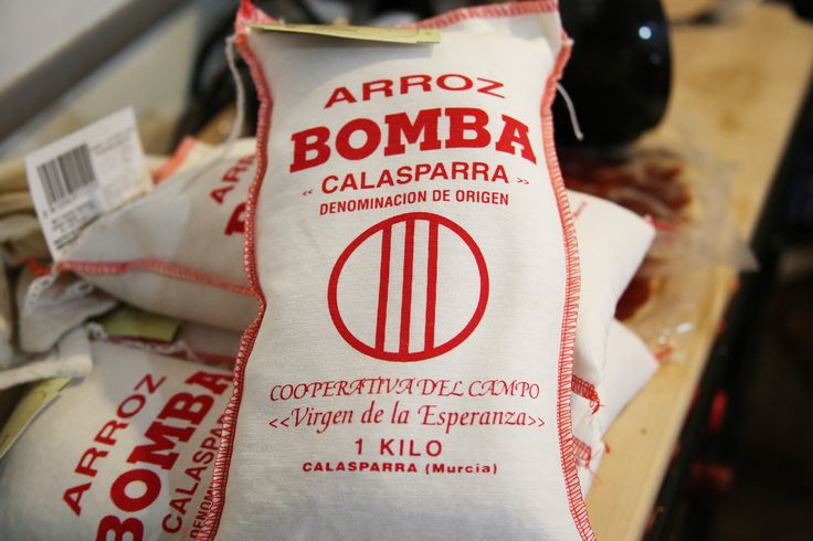 Bomba: Bomb, Bubble, Pump. This rice is the bomb, hate to burst your bubble, but I've got to do a fist pump for paella. -Pretty corny but we did!